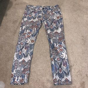 ZARA Aztec Skinny Jeans